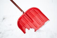 Pala per rimozione di neve immagini stock libere da diritti