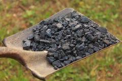 Pala in pieno di carbone Immagine Stock Libera da Diritti