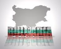 Palabra Bulgaria fotografía de archivo libre de regalías