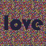 Palabra colorida. Fotos de archivo libres de regalías