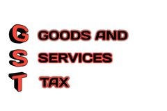 Palabra de GST en el ejemplo 3d Imagen de archivo libre de regalías