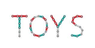 Palabra de hilanderos Nuevo juguete antiesfuerzo popular Ilustración del vector libre illustration