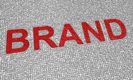 Palabra de la marca de fábrica Imagen de archivo libre de regalías
