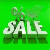 palabra de la venta 3d con la sombra stock de ilustración
