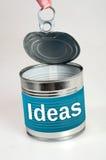 Palabra de las ideas fotografía de archivo libre de regalías