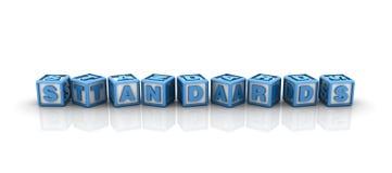 Palabra de moda de los estándares Imagen de archivo libre de regalías