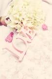 Palabra del amor como detalle de la boda Fotos de archivo libres de regalías
