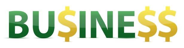 Palabra del asunto con los caracteres del dinero en circulación Fotos de archivo