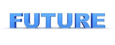 palabra del futuro 3d Fotografía de archivo libre de regalías