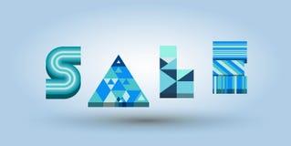 Palabra del logotipo de la venta Imagen de archivo