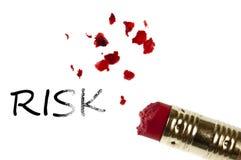 Palabra del riesgo Imagen de archivo