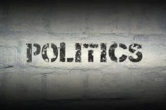 PALABRA GR de la política imagen de archivo libre de regalías