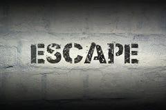 PALABRA GR del escape Foto de archivo