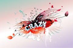 Palabra loca   Foto de archivo libre de regalías