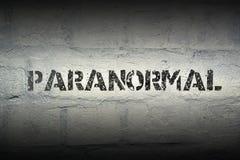 Palabra paranormal GR Fotografía de archivo libre de regalías