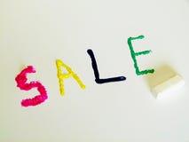 Palabras coloridas (venta) Imágenes de archivo libres de regalías