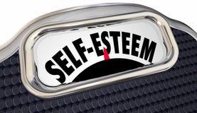 Palabras de la escala del amor propio libre illustration