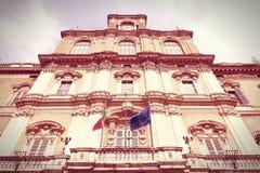 Palace,摩德纳公爵 库存照片