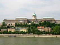 Palace. (Budapest - capital of Hungary Royalty Free Stock Photography