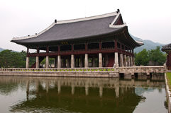 The palace. The classica plalece in Korea Royalty Free Stock Photo