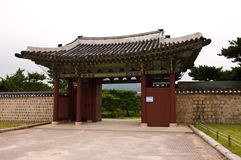 The palace. The classica plalece in Korea Stock Images