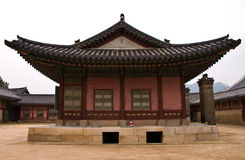 The palace. The classical palece in Korea Royalty Free Stock Images