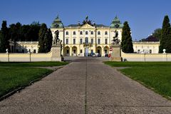 Palace 2. The Branicki Palace - Bialystok, Poland Stock Images