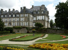 Palace. At Vannes, France Royalty Free Stock Image