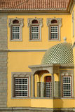 Palace. In yellow Royalty Free Stock Photo