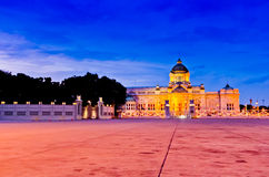 Palace. The palace in Bangkok Thailand royalty free stock photography