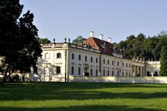 Palace. The Branicki Palace - Bialystok, Poland Royalty Free Stock Image