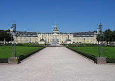 Palace. In the city of Karlsruhe, Germany Stock Photo