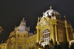 Palace. In Budapest in the Hungary Royalty Free Stock Image