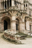 Palace. Detail of Sobrellano palace in Comillas, Spain Stock Photo
