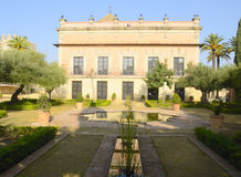 Palace in the Alcazar Stock Photo