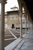 Palace in the Alcazar of Seville Royalty Free Stock Photography