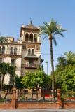 Palace of Alfonso XIII. Sevilla, Spain Royalty Free Stock Photo