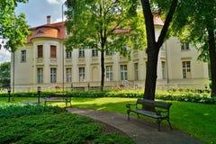Palace of Alfred Biederman Stock Photos