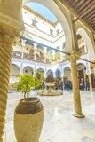 Palace in Algiers royalty free stock photo