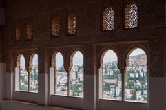 Palace of the Alhambra in Granada Stock Photo