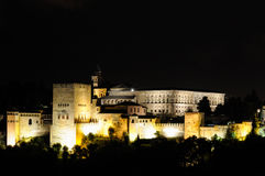 Palace of the Alhambra in Granada Royalty Free Stock Photo