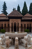 Palace of the Alhambra in Granada Stock Images
