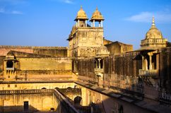 Palace of the Amber Fort Stock Photo