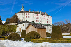 Palace of Ambras - Innsbruck Austria Stock Images