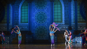 """The palace of Arabia- ballet """"One Thousand and One Nights"""" Stock Image"""