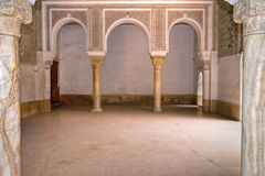 Palace arabic hall Royalty Free Stock Images