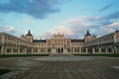 Palace of Aranjuez, Spain. Royal Palace of Aranjuez, Madrid, Spain Stock Image