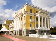 Palace in Arkhangelskoe Royalty Free Stock Photos