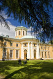 The palace in Arkhangelskoye Royalty Free Stock Photo