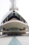Palace of arts, AuditoriumPalau de las artes in the City of Ar Royalty Free Stock Image
